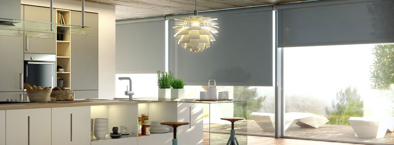 Estores enrollables cocina cortinas factory colors - Cortinas estores enrollables ...