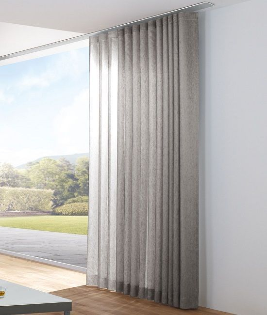 Modern sheer curtains