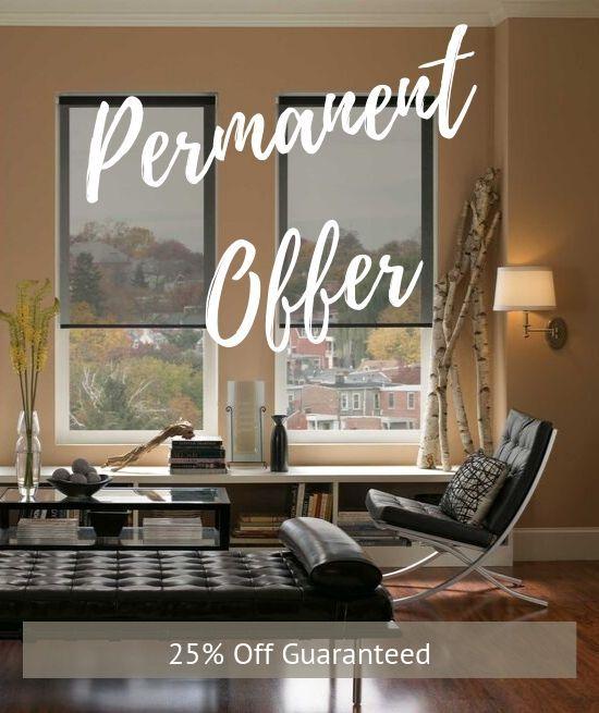 roller blinds permanent offer