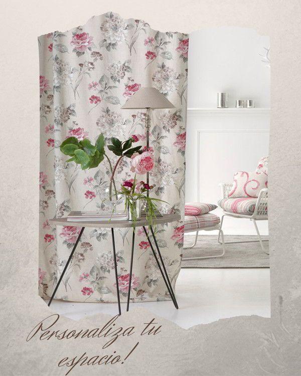 Telas estampadas para cortinas a medida en malaga