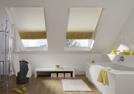cortina plisada para buhardilla