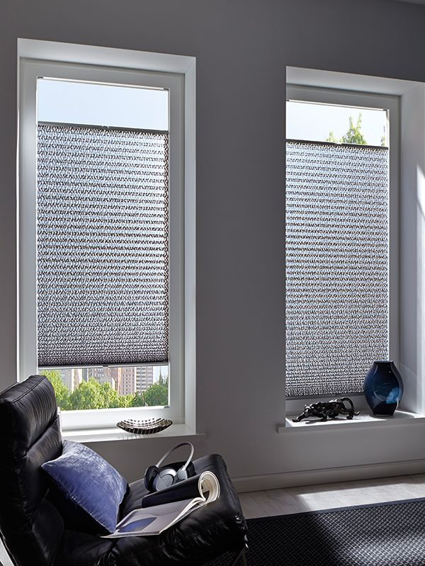 pleated shades for window