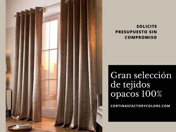 cortinas opacas a medida en malaga