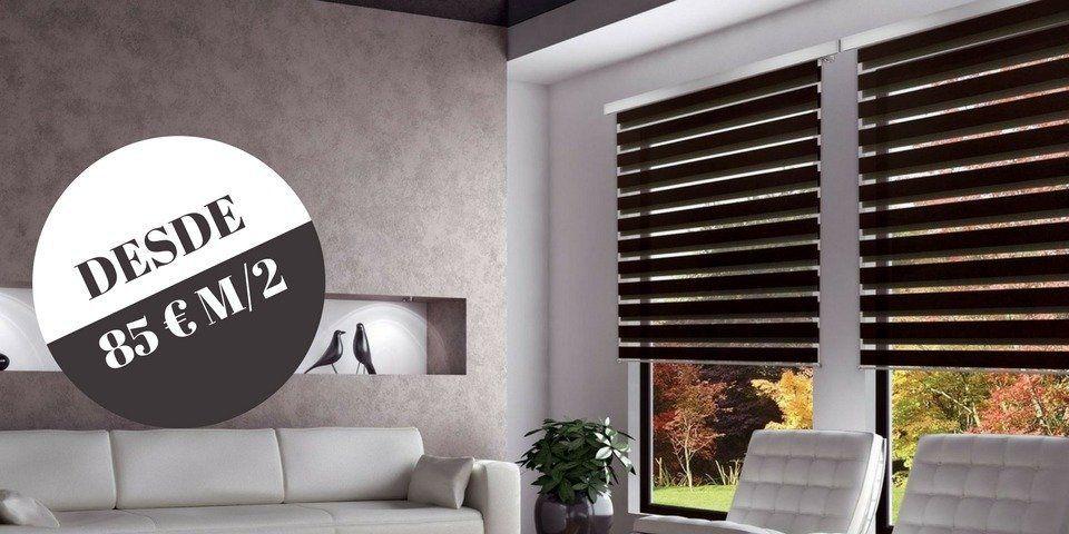 cortinas noche y dia