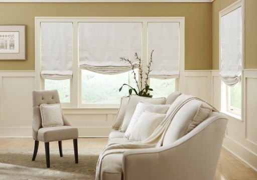 Roman curtains with for living room