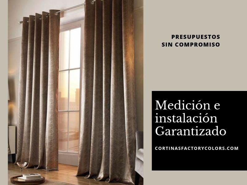 instalacion de cortinas