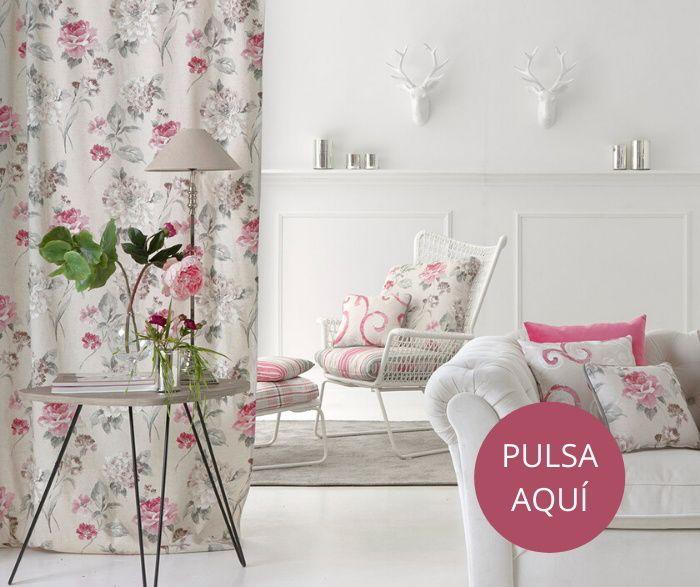 telas estampadas para cortinas