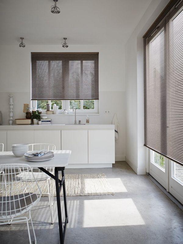 aluminum venetian blind for kitchen