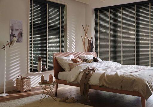wooden venetian blinds for bedroom